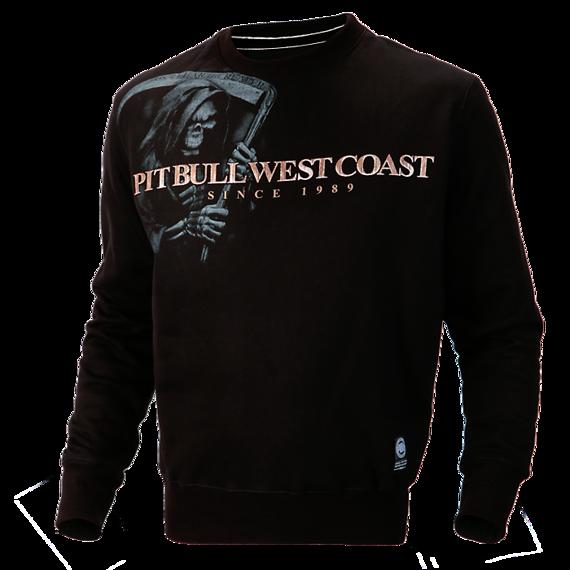 Pit Bull Bluza Crewneck GRIM REAPER Czarna