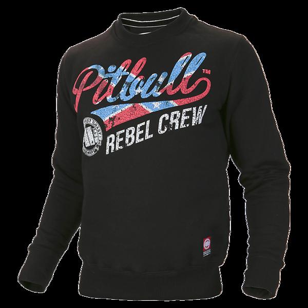 Pit Bull Bluza Crewneck REBEL CREW Czarna
