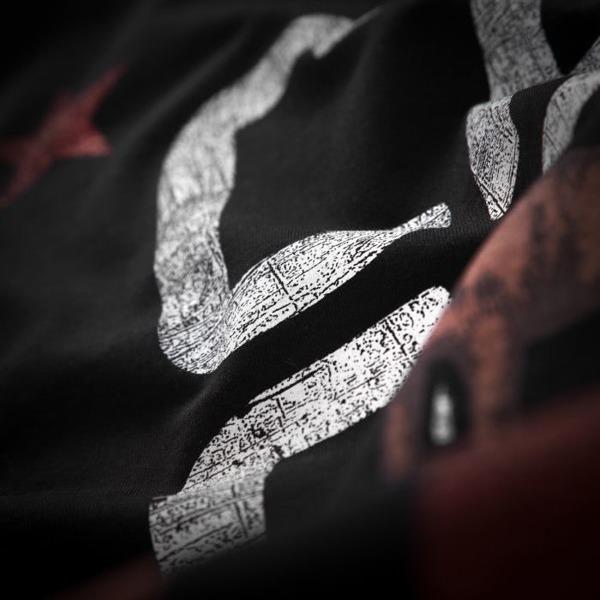 Pit Bull Bluza bez kaptura CALFORNIA FLAG Czarna
