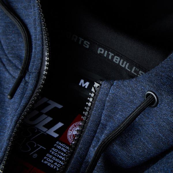 Pit Bull Bluza rozpinana z kapturem LANDIS Granatowa