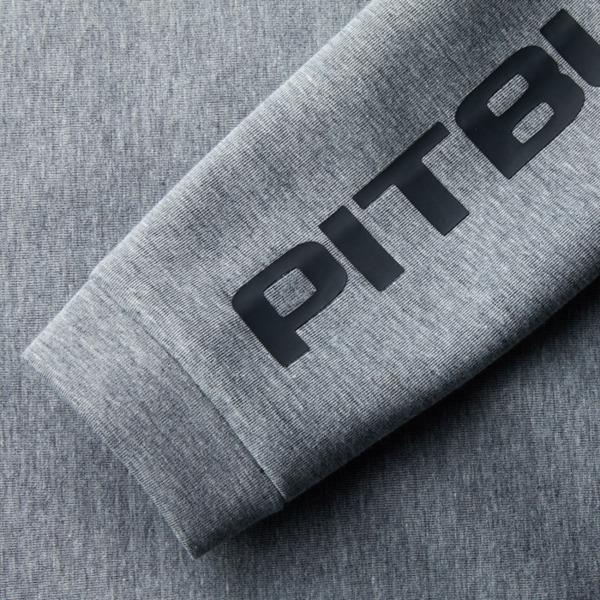 Pit Bull Bluza rozpinana z kapturem LANDIS Szary