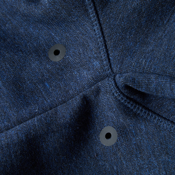 Pit Bull Bluza rozpinana z kapturem LOGAN Granatowa