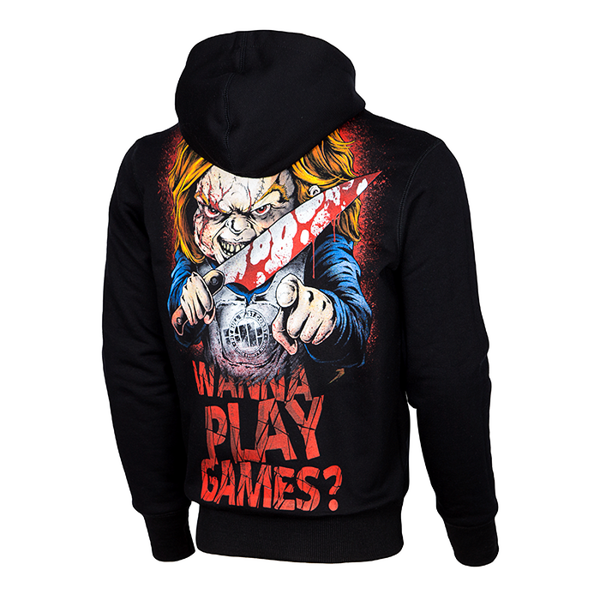Pit Bull Bluza z Kapturem WANNA PLAY GAMES 17 Czarna
