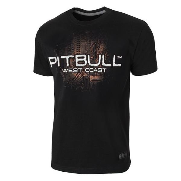 Pit Bull Koszulka CITY OF DOGS'18 Czarna