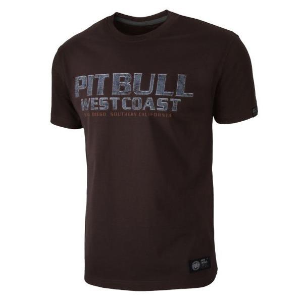 Pit Bull Koszulka FIGHTER Brązowa