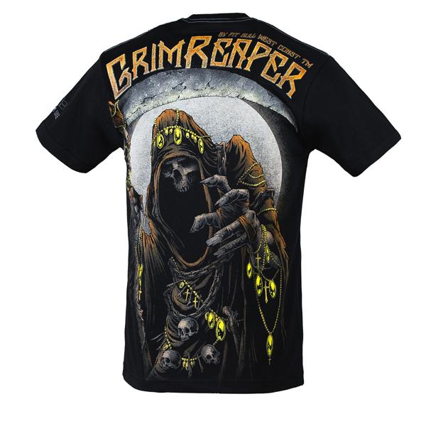 Pit Bull Koszulka GRIM REAPER 17 Czarna