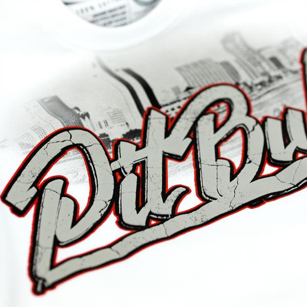 Pit Bull Koszulka SAN DIEGO DOG Biała