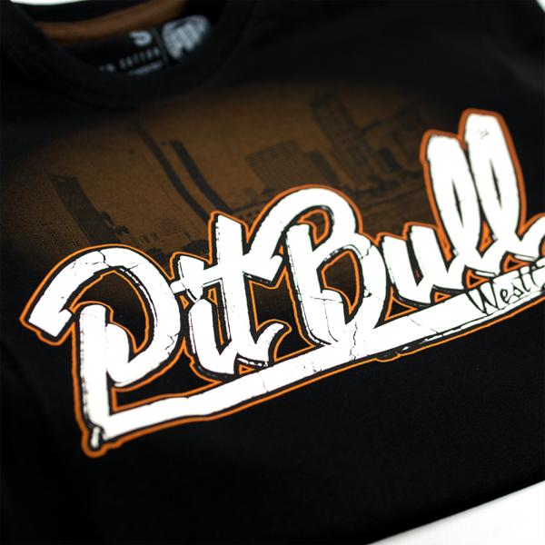 Pit Bull Koszulka SAN DIEGO DOG Czarna