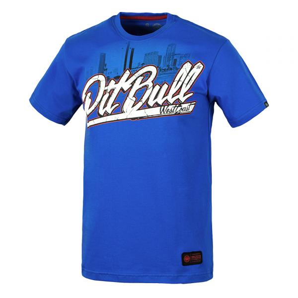 Pit Bull Koszulka SAN DIEGO DOG Niebieska