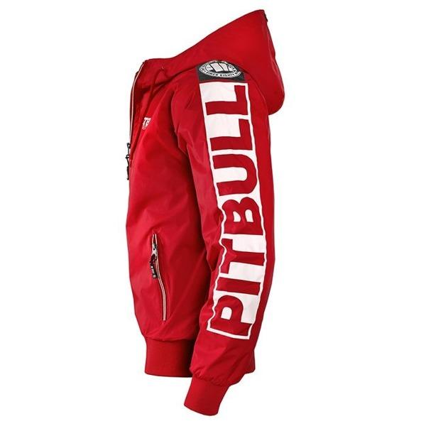 Pit Bull Kurtka przeciwdeszczowa ATHLETIC VIII Czerwona