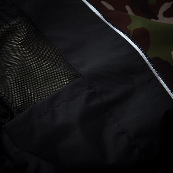 Pit Bull Kurtka przeciwdeszczowa HOMELANDS II Camo Brązowo-Zielona