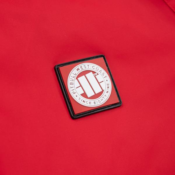 Pit Bull Kurtka przeciwdeszczowa HULL Czerwona
