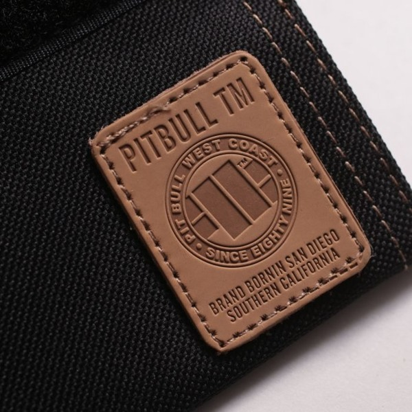 Pit Bull Portfel Small Logo Czarny