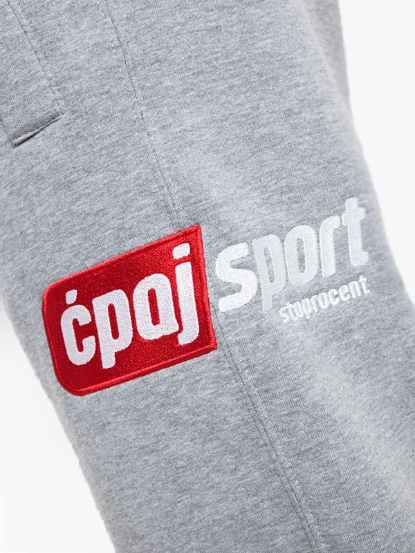 Stoprocent Spodnie Dresowe UK CS SIMPLE17 MELANGE